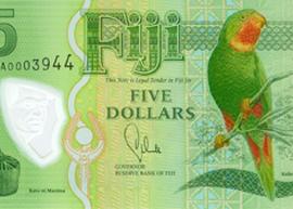 Fiji 5 banknote
