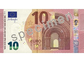 Euro 10 banknote_europa series