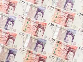 UK 50 banknotes