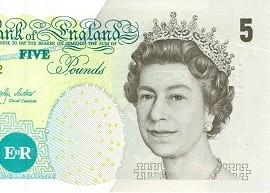 UK 5 banknote