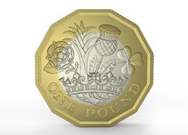 New 1 pound coin design