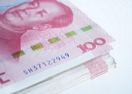 China banknotes 100 yuan
