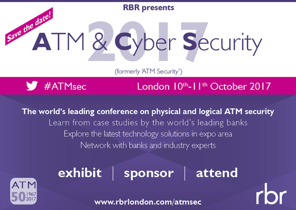 ATM & Cyber Security 2017 from RBR banner