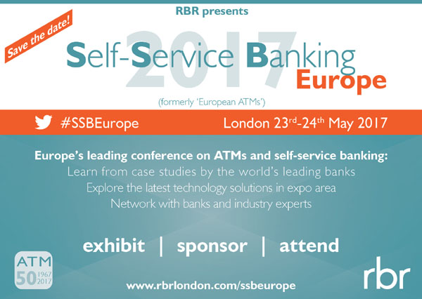 Self Service Banking Europe from RBR banner