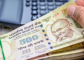 Image of Indian 500 banknote