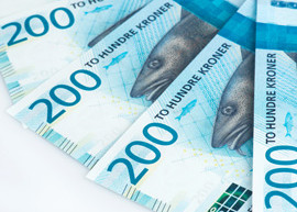 Image of the new Norway banknote, image courtesy of Norges Bank.
