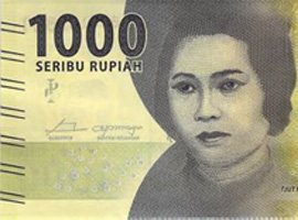 Indonesia 2016 banknote family thumbnail.