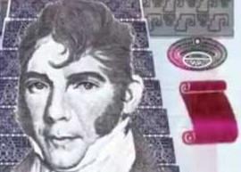 Thumbnail of Guatemala's upgraded twenty quetzals banknote