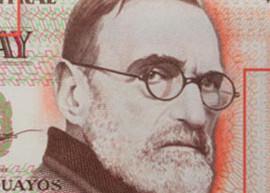 Thumbnail image of Uruguay 200 peso banknote 2016.