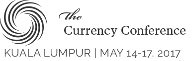 Logo of The Currency Conference 2017.