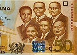 Ghana 50 Cedi 2007