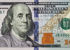 US 100 banknote