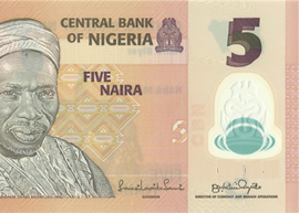 Nigeria - 5 banknote