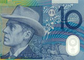 Australia 10 banknote thumbnail