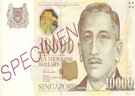 Singapore 10 000 image