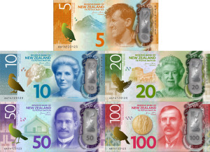 New Zealand new banknote series