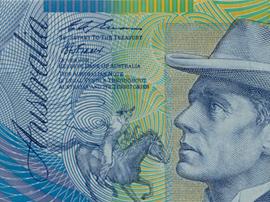 Australia 10 banknote