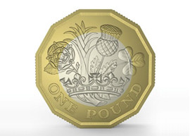New 1 pound coin design