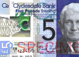 Scottish 5 polymer banknote_Small