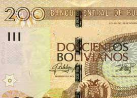 Bolivia banknote 200 thumbnail