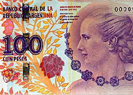 Argentina 100 peso banknote 2013 thumbnail