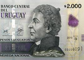 Uruguay 2000 banknote denomination thumbnail