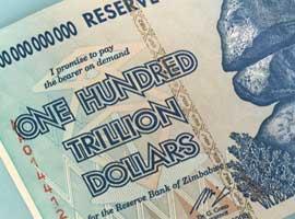Zimbabwe 100 trillion banknote thumbnail