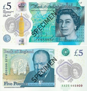 Bank of England_UK_New Fiver