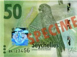 Thumbnail image of new Seychelles banknote family.