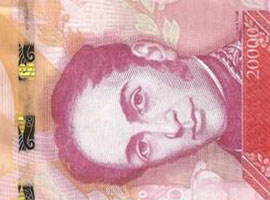 Thumbnail of Venezuela new high denomination banknotes