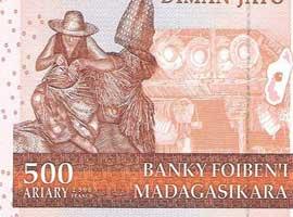 Madagascar 500 banknote thumbnail image