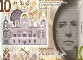 Thumbnail image of the new Bank of Scotland 10 banknote design