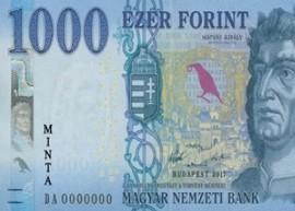 Thumbnail image of Hungary 1000 banknote 2017