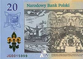 Thumbnail image of To celebrate the 300th anniversary of the Coronation, the Narodowy Bank Polski (NBP) will start circulating a commemorative banknote from the 21 August 2017.