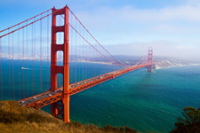 Image of San Fransico's Golden Gate Bridge
