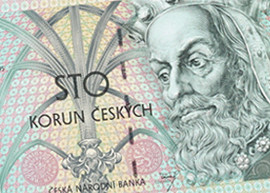 Thumbnail image of Czech 100 banknote.