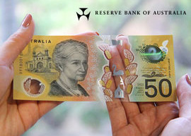 Reserve Bank of Australia $50 banknote.