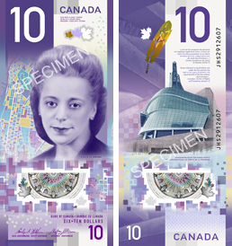 Image of the Canada banknote featuring Viola Desmond 2018