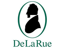 Image of the De La Rue (DLR) logo