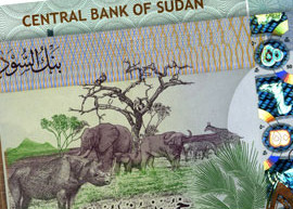 Thumbnail image of the 2011 Sudan 50 banknote.