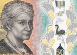 Thumbnail image of the Australia Next Generation Banknote 50 2018
