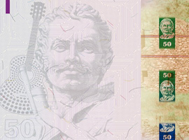 Thumbnail image of the 50 Bolivia banknote 2018