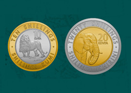 Thumbnail image of the Kenya 2018 New Generation Coin series