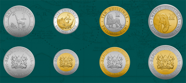 Kenya 2018 New Generation Coin series