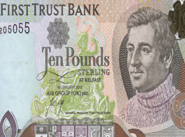 Thumbnail image of the First Trust Bank 10 pound banknote